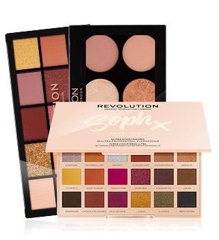 paletas da makeup revolution