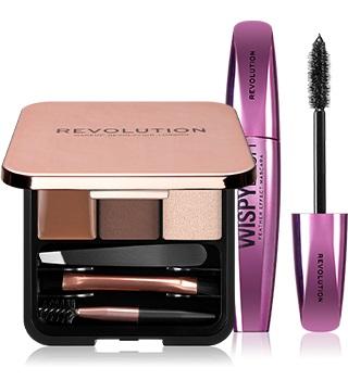 makeup revolution mascara et palette yeux
