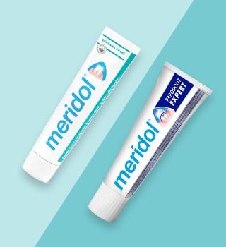 Meridol zubní pasty