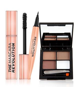 produtos para pestanas e sobrancelhas da makeup revolution