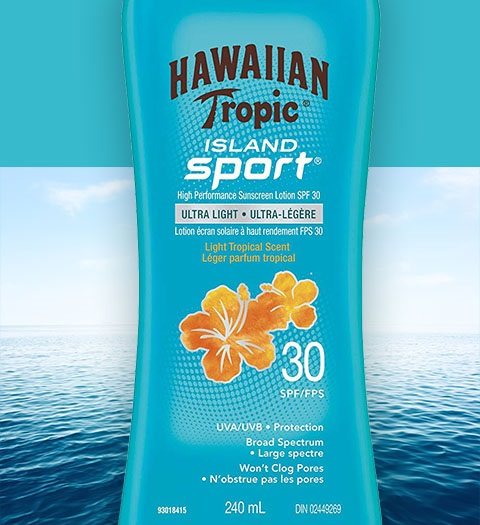Produkty do opalania  Hawaiian Tropic