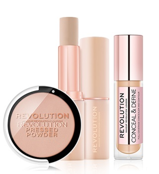 makeup revolution makeup pour visage