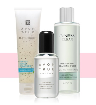 AVON MAKE-UP REMOVERS EN HUIDREINIGING