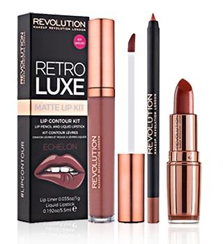 batons e glosess da makeup revolution