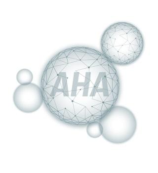 acides AHA en cosmétique