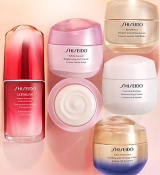 Shiseido Vrásky a starnutie pleti