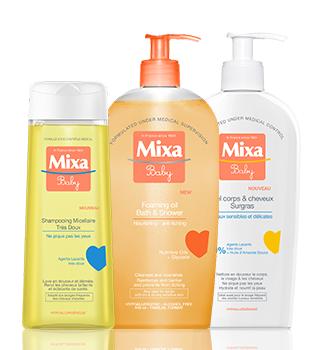 Gyermek bőrápolás Mixa