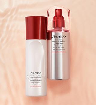 Shiseido Odlíčení a čištění