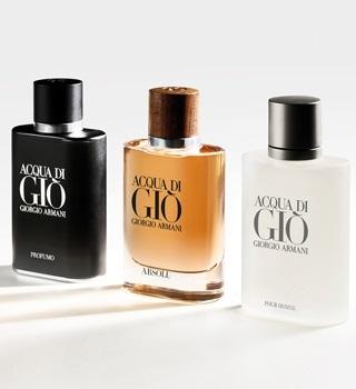 Armani parfums pour homme