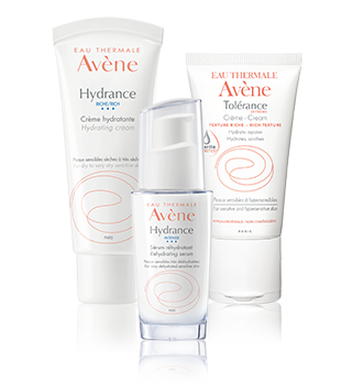 Хидратация на чувствителна и свръхчувствителна кожа Avène