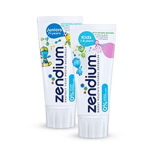 Zendium - pasta do zebow dla dzieci