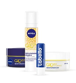 Produtos Nivea para cuidados da pele