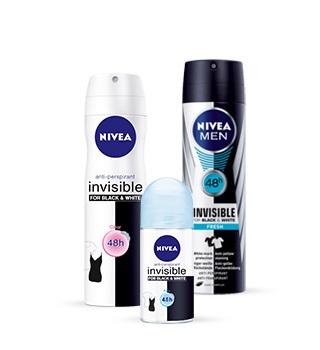 Dezodoranty a antiperspiranty Nivea