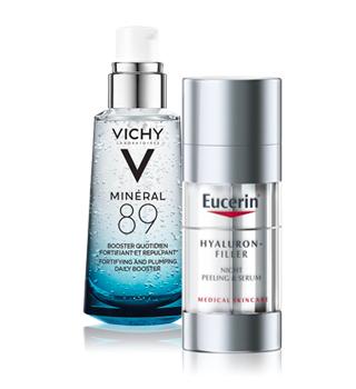 Masques et sérums dermatologiques pour la peau