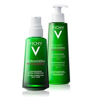 Vichy-Pflegeprodukte gegen Akne