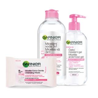 Garnier Entfernen von Make-up und Reinigung der Haut