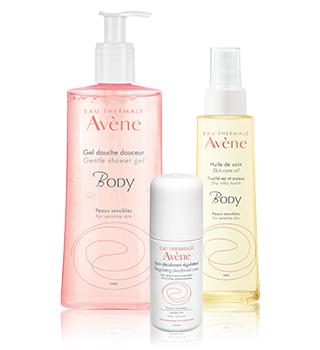 Îngrijirea corpului Avène
