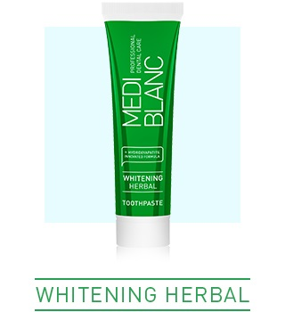 FOR NATURALLY WHITE TEETH AND SOOTHED GUMS
