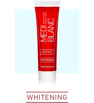 FOR NATURALLY WHITE TEETH AND BRILLIANT SMILE