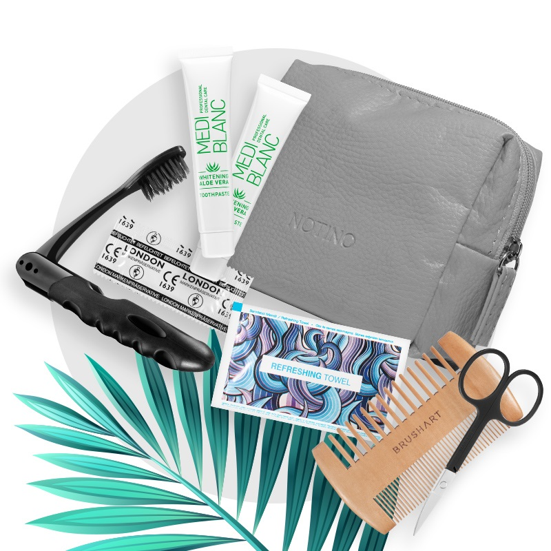 Notino Essentials Kit pentru bărbați conține: