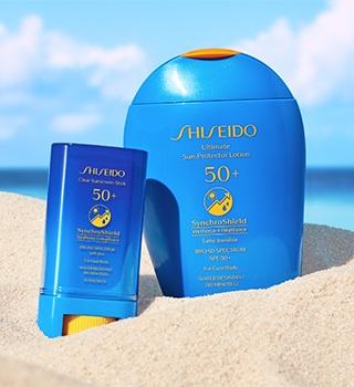 Shiseido Sluneční ochrana