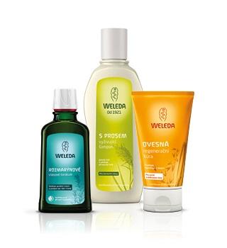 Weleda šampóny a starostlivosť o vlasy