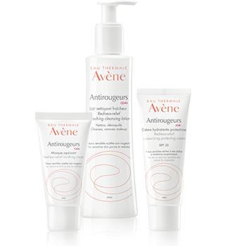 Зачервяване на кожата Avène