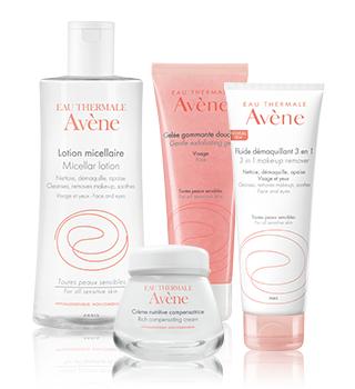 Podstawowa pielęgnacja dla skóry wrażliwej Avène