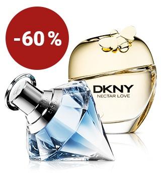 Bis -60 % auf Damen-Parfüms