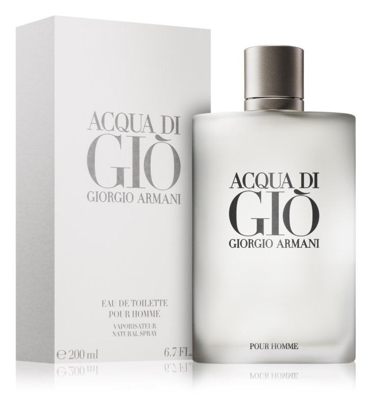 8. Giorgio Armani<br>Acqua di Gio Pour Homme