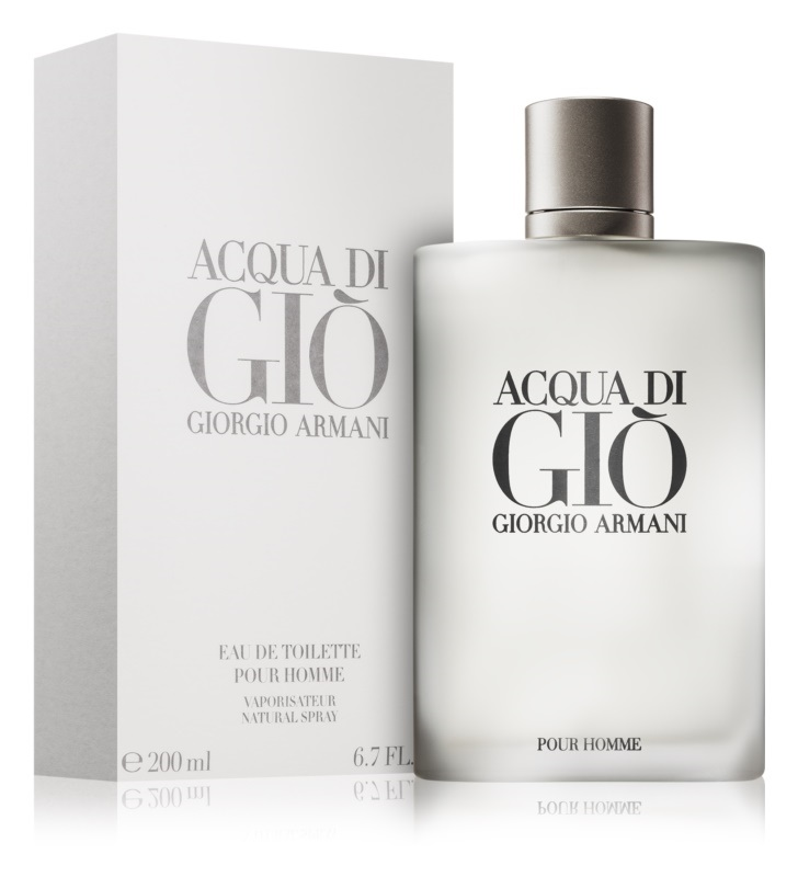 7. Giorgio Armani<br>Acqua di Gio Pour Homme
