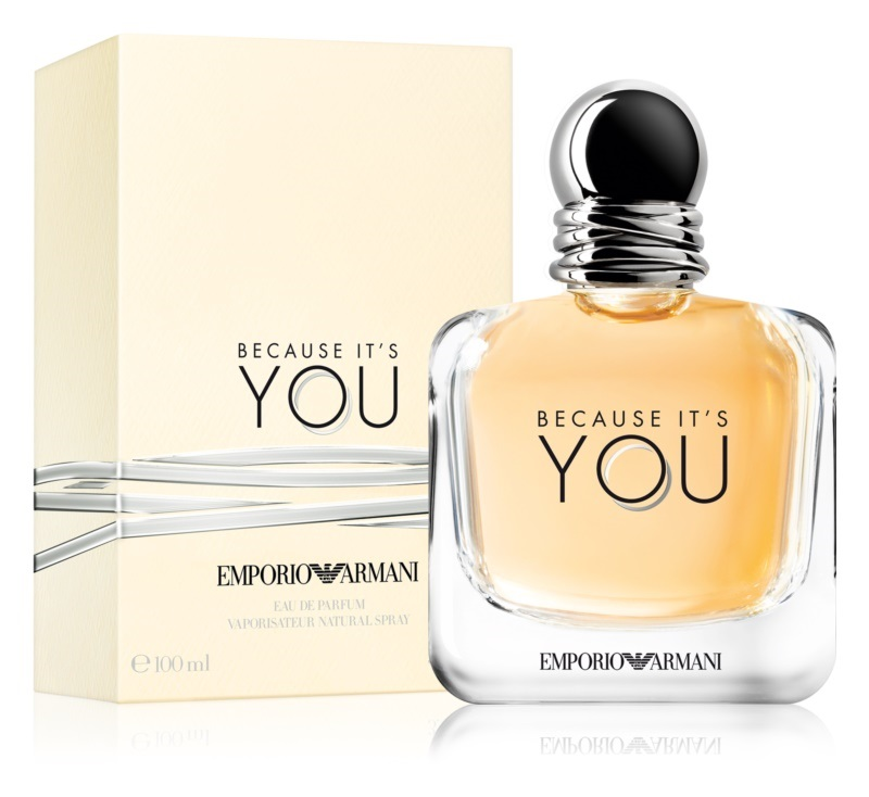 10. Giorgio Armani<br> Emporio Because It´s You