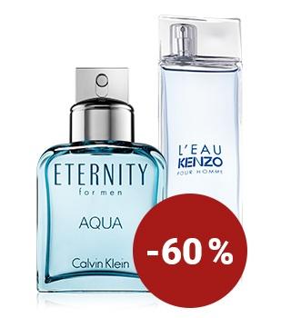 Jusqu'à -60 % sur les parfums pour lui