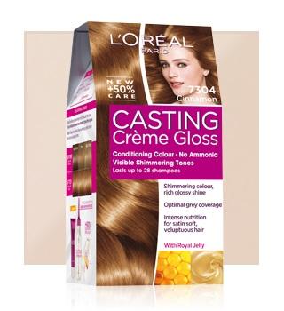 Coloración del cabello en casa