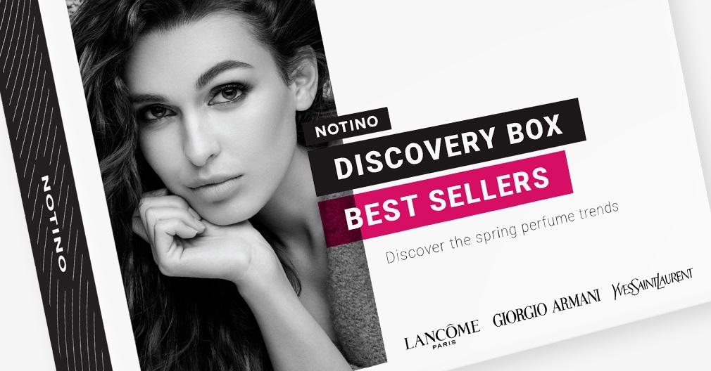 Discovery box Best Sellers съдържа мостри на следните парфюми: