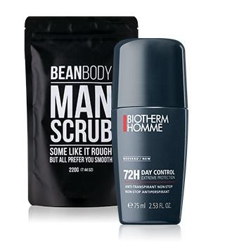 Telová kozmetika pre mužov