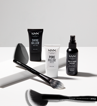 NYX BRUSHES AND ACCESSORIES