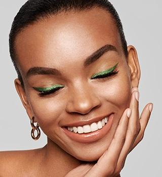 Inglot make-up twarz