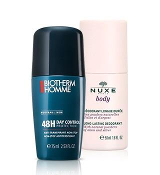 Deodorant a antiperspirant