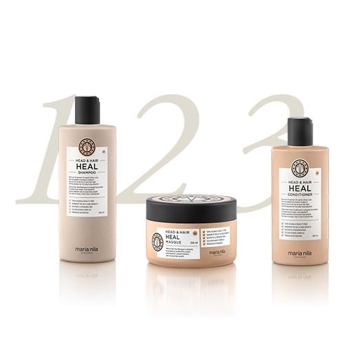 <strong>Léčivá řada pro stimulaci růstu vlasů a eliminaci lupů Head & Hair Heal</strong>