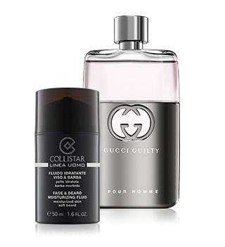Luxusní kosmetika a parfémy pro muže