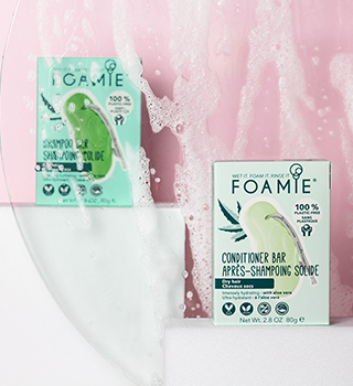 Foamie shampoo conditioner