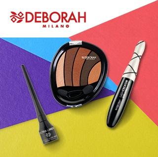 Средства Deborah Milano для макияжа глаз