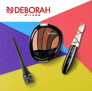 Makijaż oczu Deborah Milano