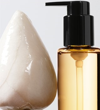 Shu Uemura Products with cleansing oils