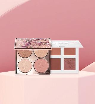 Highlighter & blush palette
