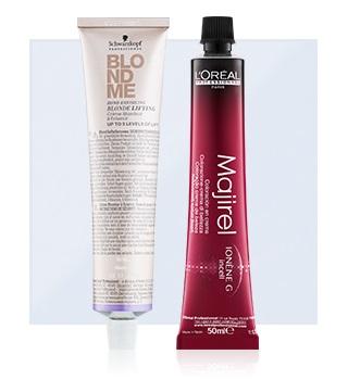 Професионални боя за коса