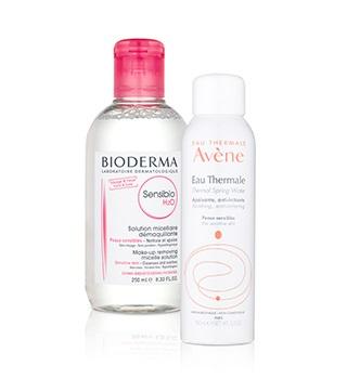 Odlíčenie a čistenie dermatokozmetika