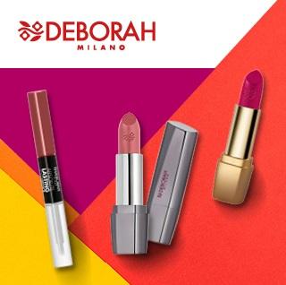 Помада и блеск для губ Deborah Milano