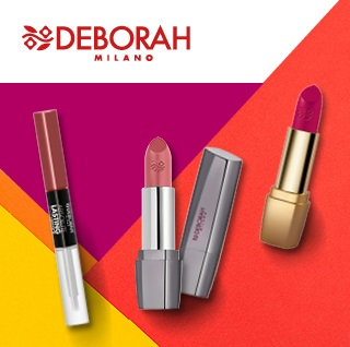 Lipsticks en lipglosses van Deborah Milano